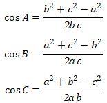 Aturan Cosinus Trigonometri