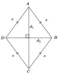 Belah Ketupat Diagonal