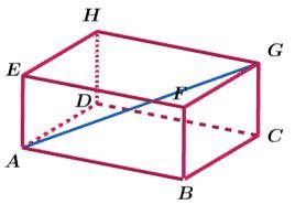 Diagonal Ruang Balok