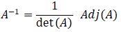 Rumus Inverse Matriks
