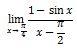 Contoh Soal Limit Trigonometri no 5 Bagian 1