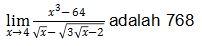 Contoh Soal Limit no 1 bagian 5