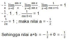 Contoh Soal Limit no 5 bagian 6