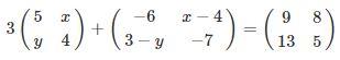 Contoh Soal Matriks no 3 bagian a
