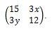 Contoh Soal Matriks no 3 bagian b