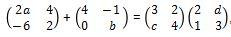 Contoh Soal Matriks no 4 bagian c