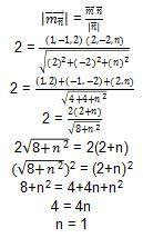 Contoh Soal Vektor no 4 Bagian 2