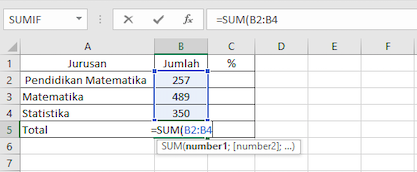 Mengkonversi bilangan menjadi persentase 1
