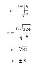 Contoh Soal Barisan Geometri 3