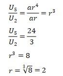 Contoh Soal Barisan Geometri