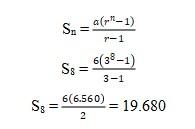 Soal Deret Geometri